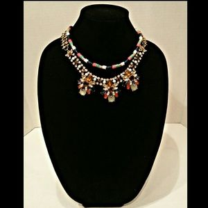 Makarlon Jewelry - **SALE** Chunky Colorful  Statement Necklace 18""